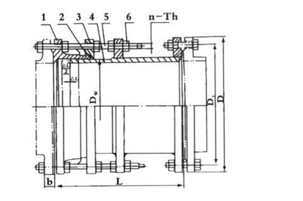 VSSJAFC可拆式双法兰松套传力接头结构图.jpg